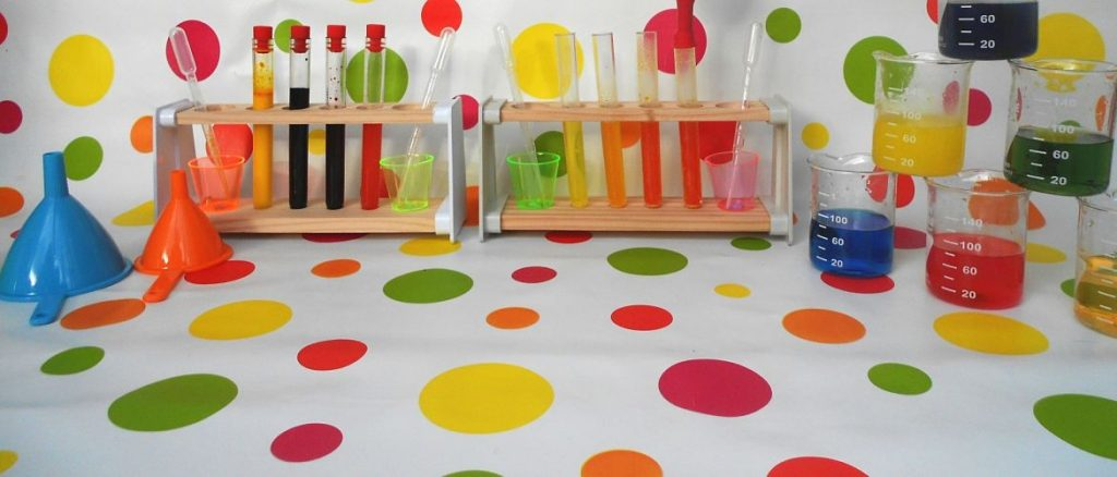 Fab Science party experiment kit